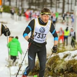 Skiing 90 km - Björn Lind (7337)