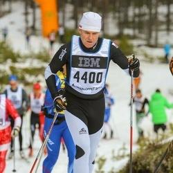 Skiing 90 km - Jean-Francois Gehin (4400)