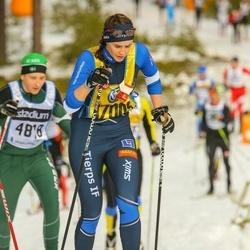 Skiing 90 km - Caroline Ström (17009)