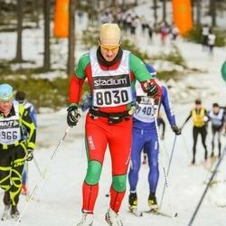 Skiing 90 km - Jonas Lundberg (8030)
