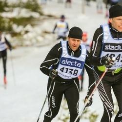 Skiing 90 km - Peter Johansson (4138)