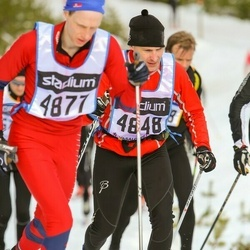 Skiing 90 km - Daniel Tengstad (4848)