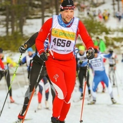 Skiing 90 km - Fredrik Lind (4658)
