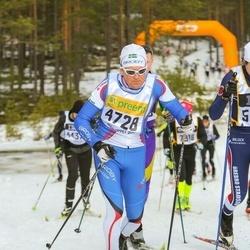 Skiing 90 km - Johan Nordskott (4728)