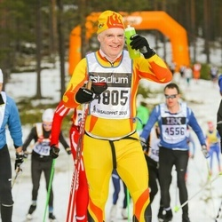 Skiing 90 km - Raimond Pettersen (4805)