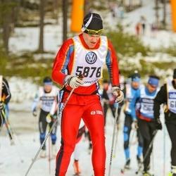 Skiing 90 km - Erik Svensson (5878)