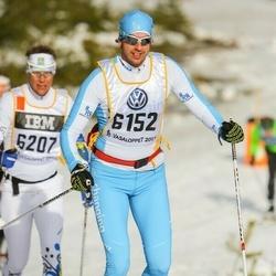 Skiing 90 km - Henrik Karlsson Nääs (6152)