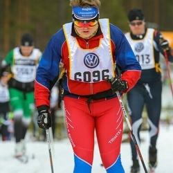 Skiing 90 km - Carl-Fredrik Ekstrand (6096)