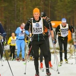 Skiing 90 km - Fredrik Södergren (5992)