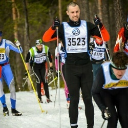 Skiing 90 km - Andreas Andersson (3523)