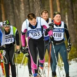 Skiing 90 km - Peter Ringstad (4118), Christian Røe (4133)