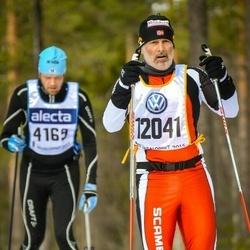 Skiing 90 km - Egil Håmsö (12041)