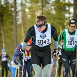 Skiing 90 km - Björn Eriksson Norberg (3043)