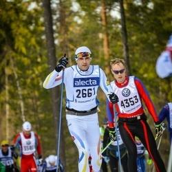 Skiing 90 km - Ain Veemees (2661)