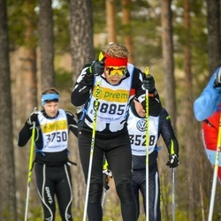 Skiing 90 km - Antti Mäkelä (8885)