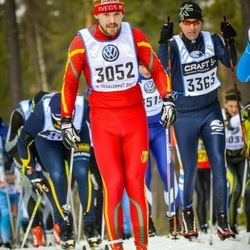 Skiing 90 km - Andre Larsson (3052)