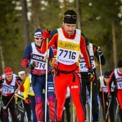 Skiing 90 km - Bruno Martig (7716)
