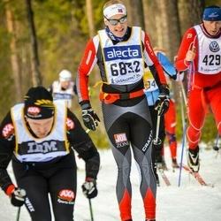 Skiing 90 km - Daniel Karlsson (6832)