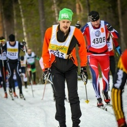 Skiing 90 km - Fredrik Ekenstedt (5243)