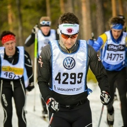 Skiing 90 km - Daniel Gustafsson (4299)