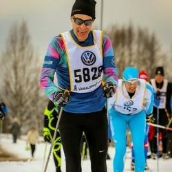 Skiing 90 km - Tomas Bengtsson (5828)