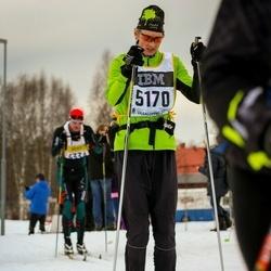 Skiing 90 km - Lars Myhre (5170)