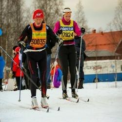 Skiing 90 km - Sofia Hållmarker (17824), Arne Lund (30035)