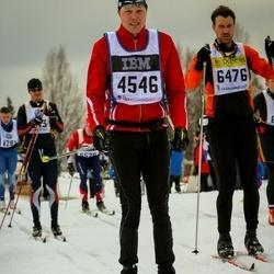 Skiing 90 km - Andreas Jacobsson (4536), Fredrik Zetterling (6476)
