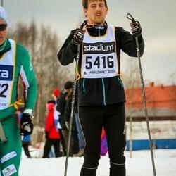 Skiing 90 km - Fredrik Lunde (5416)