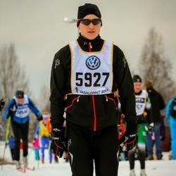 Skiing 90 km - Christoffer Hansson (5927)