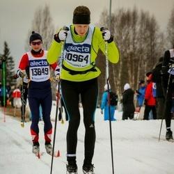 Skiing 90 km - Andreas Eriksson (10964), Rikard Zachrisson (13849)