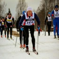 Skiing 90 km - Mikael Hellsten (4414)