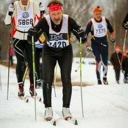 Skiing 90 km - Tomas Mckelvey (7420)