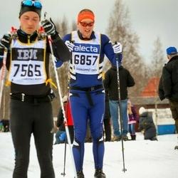 Skiing 90 km - Patrick Rahm (6857)