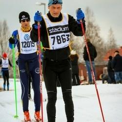 Skiing 90 km - Anders Nordzell (7863), Bo Karlsson (12019)