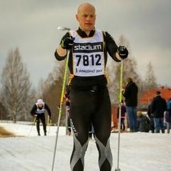 Skiing 90 km - Fredrik Holmer (7812)