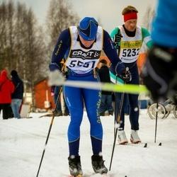 Skiing 90 km - Henrik Larsson (5232), Thorleif Skeppstedt (5551)