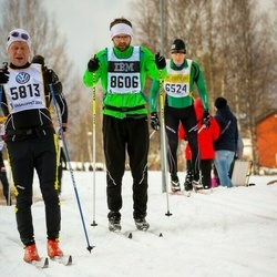 Skiing 90 km - Arto Viitasaari (5813), Tomas Toss (8606)