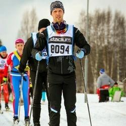 Skiing 90 km - Fredrik Bresky (8094)