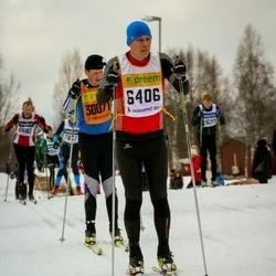 Skiing 90 km - Anders Forsberg (6406)
