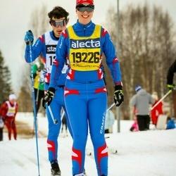 Skiing 90 km - Laura Csucs-Fenyvesi (19226)