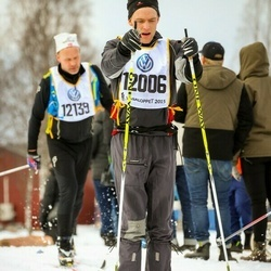 Skiing 90 km - Henrik Gustafsson (12006)
