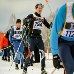 Skiing 90 km - Andreas Flemmer (7550)
