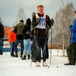 Skiing 90 km - Albert Bäckebjörk (7033)
