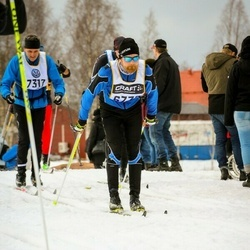 Skiing 90 km - Elias Wikström (6772), Magnus Gregart (7317)