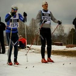 Skiing 90 km - Alexandr Shilov (6375), Tobias Fjeld (15232)