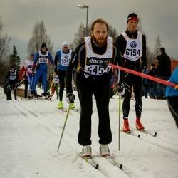 Skiing 90 km - Emil Rydh (5459), Fredrik Lagerhorn (6154)