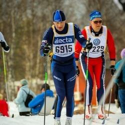 Skiing 90 km - Dan Gustafsson (6915), Anders Glämsta (7229)