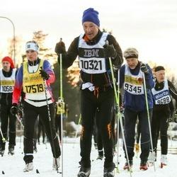 Skiing 90 km - Lennart Hammarström (10321), Elin Nygårds Bodin (17519)