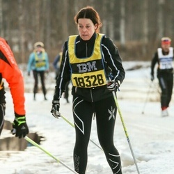 Skiing 90 km - Åsa Nordström (18328)
